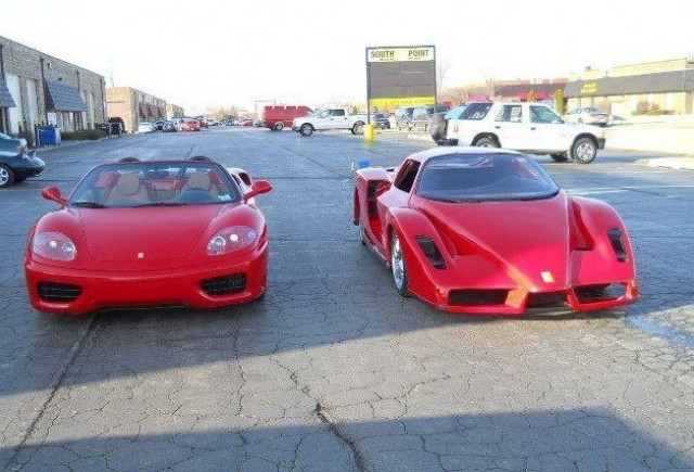 TUNING: Replica Ferrari Enzo