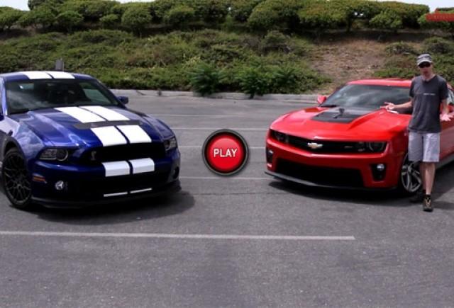 Shelby GT500 versus Camaro ZL1