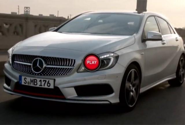 VIDEO:Noul Mercedes A-Class in actiune