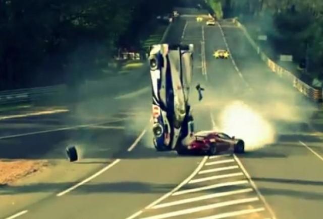 Accident teribil in cadrul cursei de la Le Mans