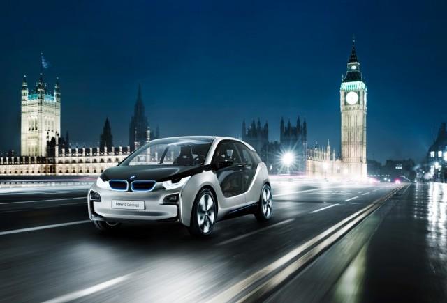 Cei de la BMW au prezentat i3 Concept