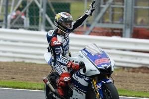 Jorge Lorenzo castiga la Silverstone