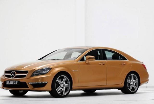 TUNING: Cei de la Brabus si-au pus amprenta pe Mercedes CLS 63 AMG