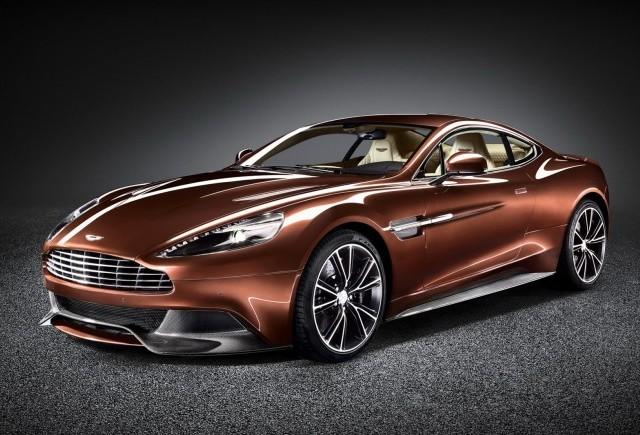 Primele imagini oficiale cu Aston Martin Vanquish