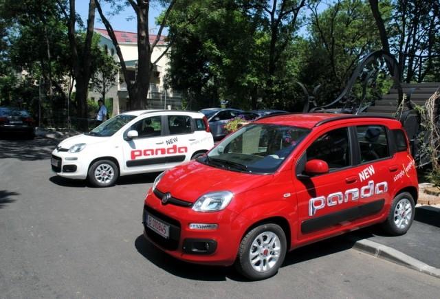 Noul Fiat Panda, disponibil de la 9950 Euro cu TVA