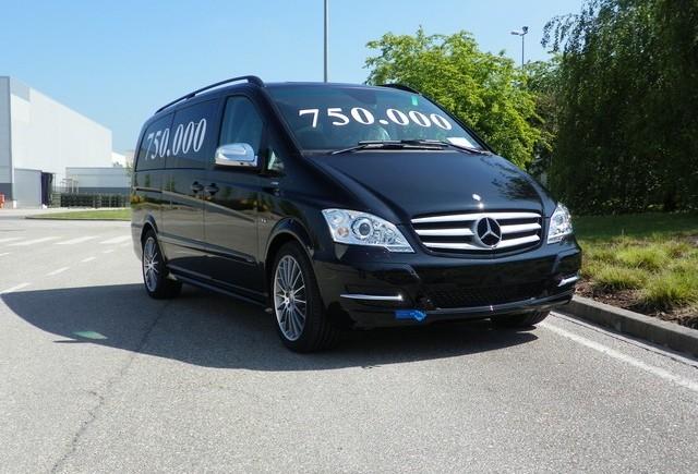Mercedes-Benz Viano cu numarul 750.000