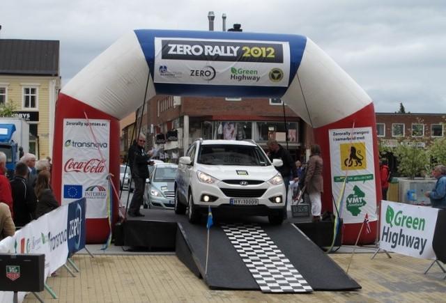 Hyundai ix35 FCEV la Zero Rally