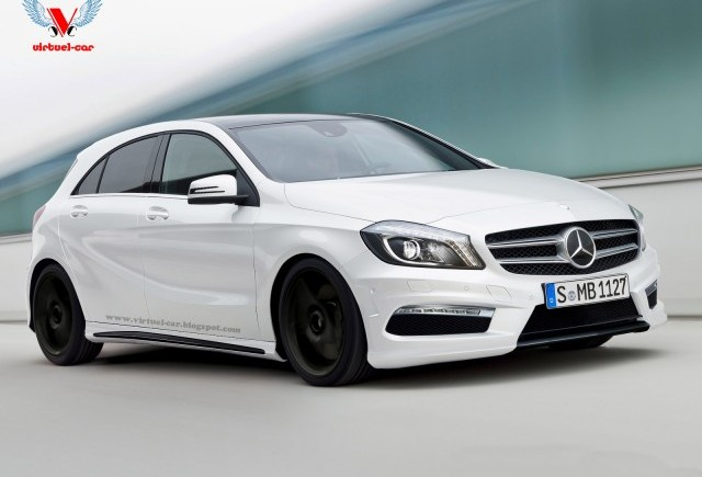 Cum ar putea arata Mercedes A45 AMG