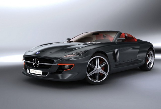 Studiu de design interesant: Mercedes 300 SL Gullwing Coupe si Roadster