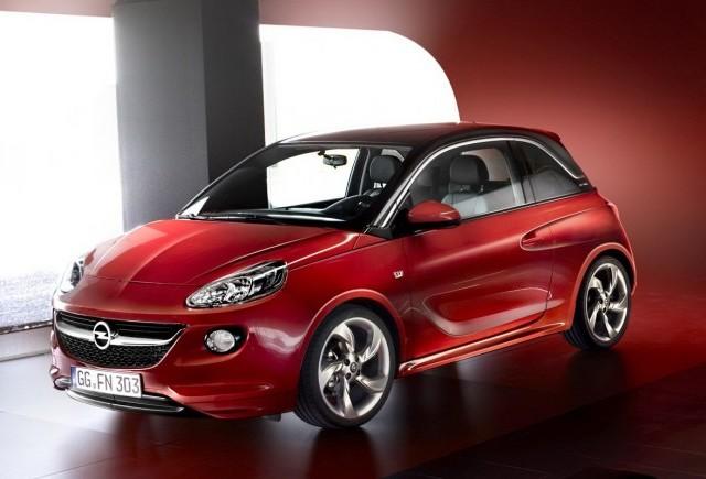 Micutul Opel Adam ni se prezinta prin intermediul unor imagini oficiale