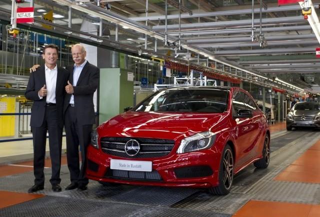 OFICIAL: Mercedes va produce un nou SUV bazat pe modelul A-Class