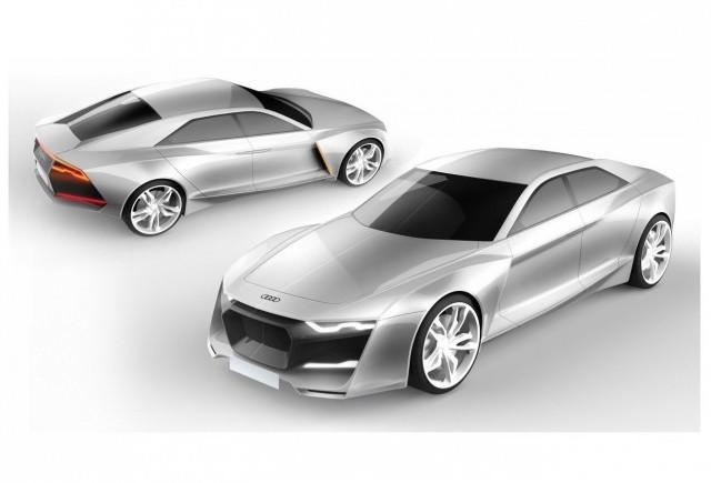Un studiu de design venit din Rusia - Audi R9 Concept