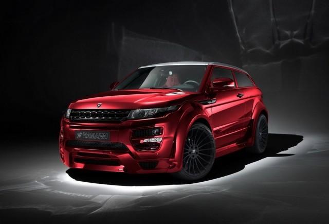 TUNING: Hamann Motorsport ofera o nota de personalitate celebrului Range Rover Evoque