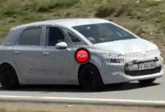 Material video spion: Noul Citroen C4 Picasso a fost surprins pe drumurile din Spania