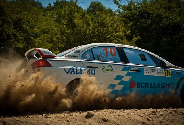 Strategia BCR Leasing Rally Team a dat roade si la Sibiu Rally Romania 2012