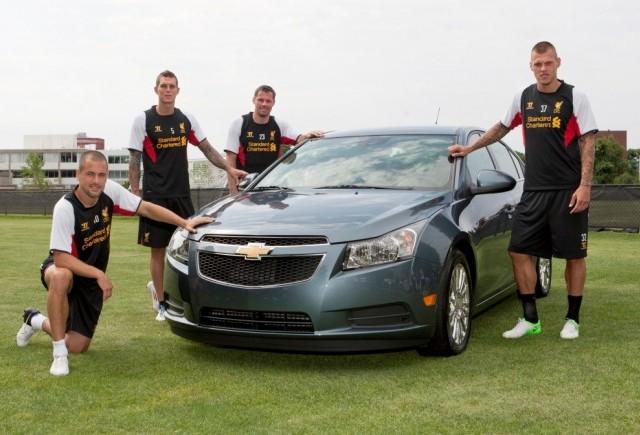 Chevrolet va fi Partenerul Auto Oficial al FC Liverpool