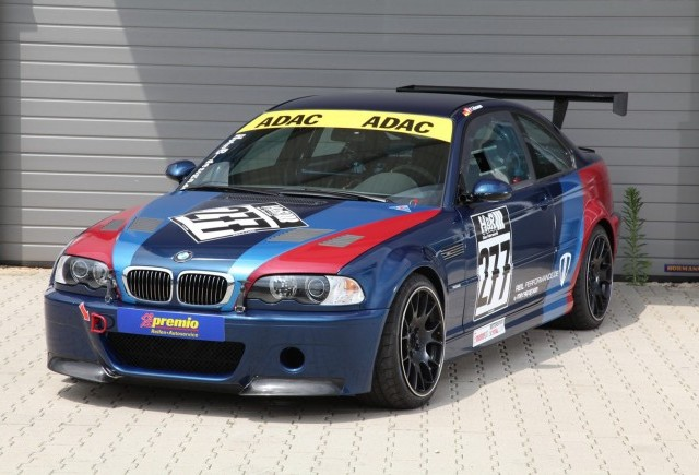 TUNING: Editia limitata BMW M3 CSL 2004 transformata intr-o masina de curse