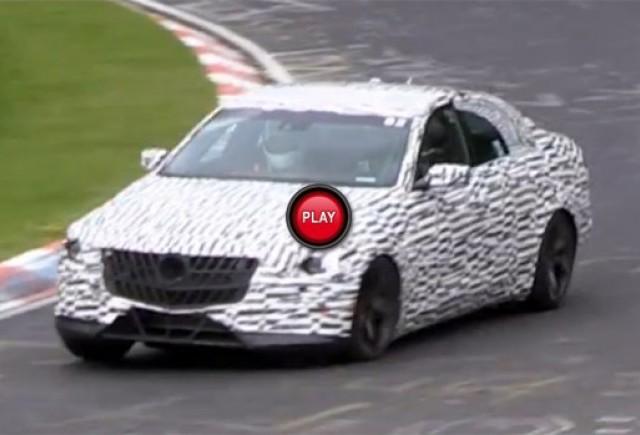 Noul Cadillac CTS Sedan 2014 a fost spionat pe pista de la Nurburgring