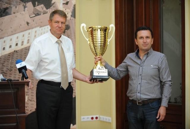 Trofeu special pentru Klaus Iohannis, Primarul Municipiului Sibiu