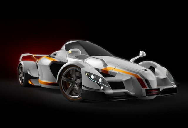 Tramontana XTR - Un supercar de 876 cai putere