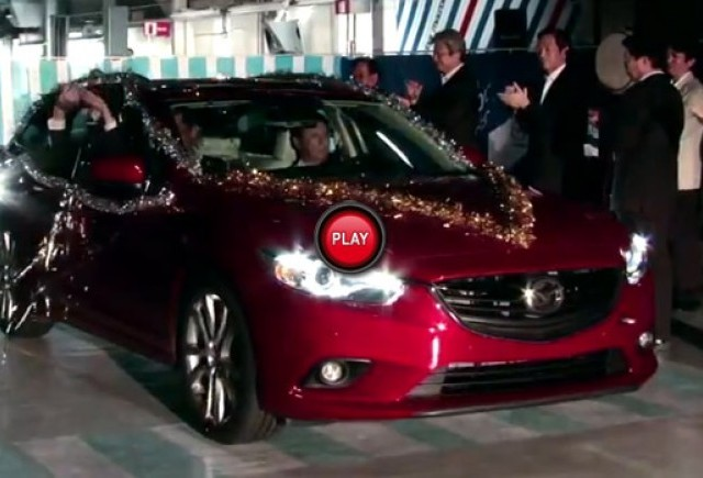 VIDEO: Noul Mazda6 Station Wagon 2014 si-a facut debutul