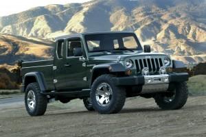 Cei de la Jeep ar putea lansa un model pickup in urmatorii trei ani