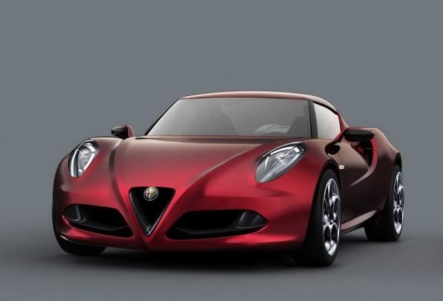 Alfa Romeo se pregateste sa produca din 2015 4C Spider
