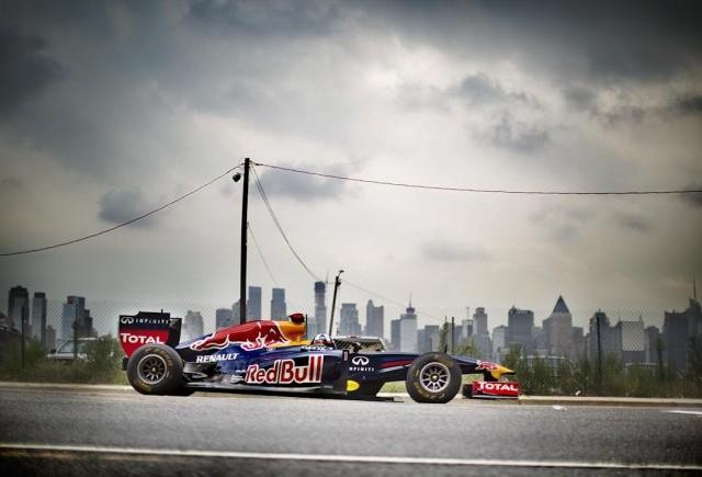 Monopostul Red Bull F1 viziteaza America