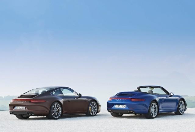 Primele imagini oficiale cu noul Porsche Carrera 4/4S 2013