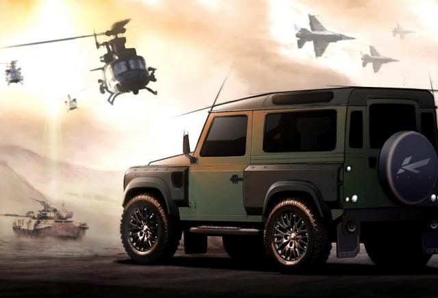 TUNING: Cei de la Kahn Project ne prezinta un nou concept Land Rover Defender