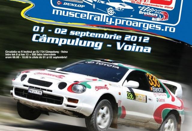 Campionatului National de Viteza in Coasta Dunlop Campulung Muscel