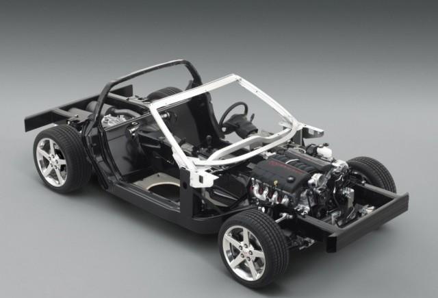 Şasiul inovator al modelului Corvette este perfecţionat pe pista de curse
