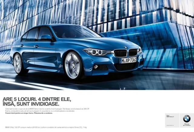 O nouă campanie de imagine BMW în România