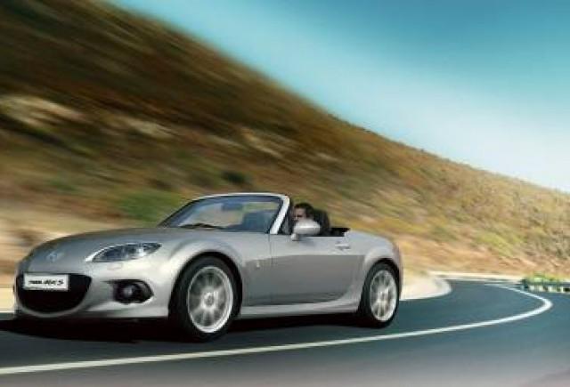 Mazda anunţă un facelift pentru roadster-ul MX-5 în această toamnă