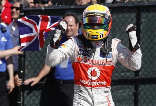 Hamilton reuseste sa castige in Italia