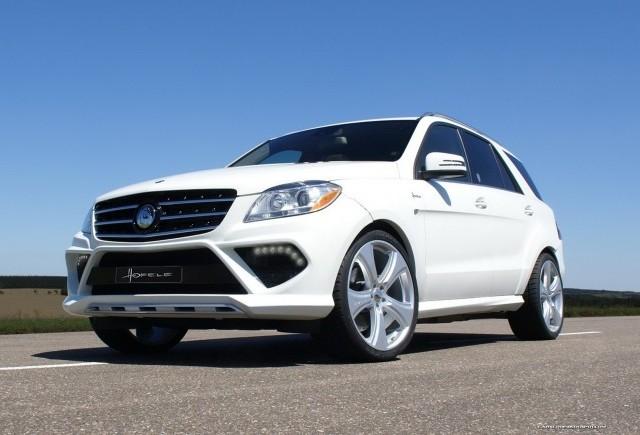 TUNING: Hofele-Design modifica Mercedes ML