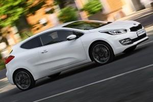 Primele imagini oficiale cu Kia Pro Cee'd 2013