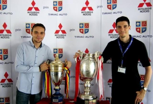 Cupa si Supercupa Romaniei in vizita la Tiriac Auto