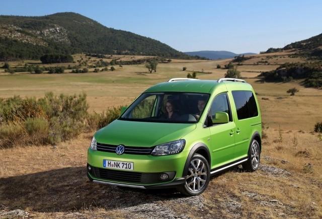 Imagini oficiale cu Volkswagen Cross Caddy