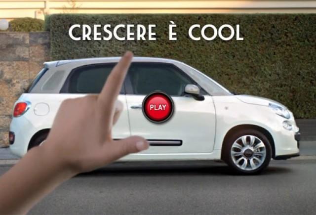 Spot publicitar pentru Fiat 500L