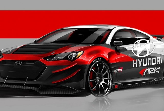 Un model superb - Hyundai Genesis Coupe R-Spec Track Edition