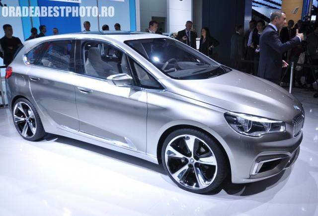 Salonul Auto de la Paris 2012: BMW Active Tourer
