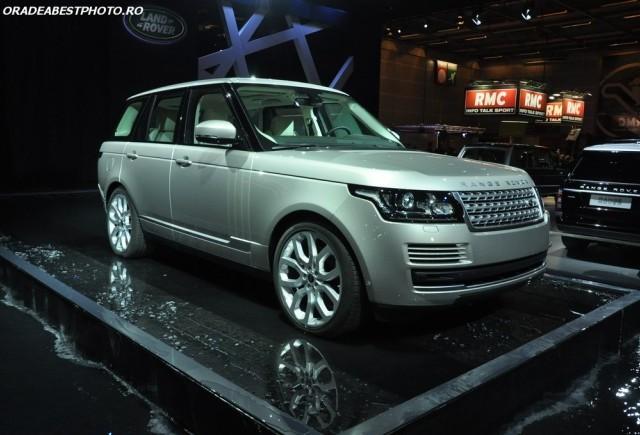 LIVE de la Paris 2012: Noul Range Rover