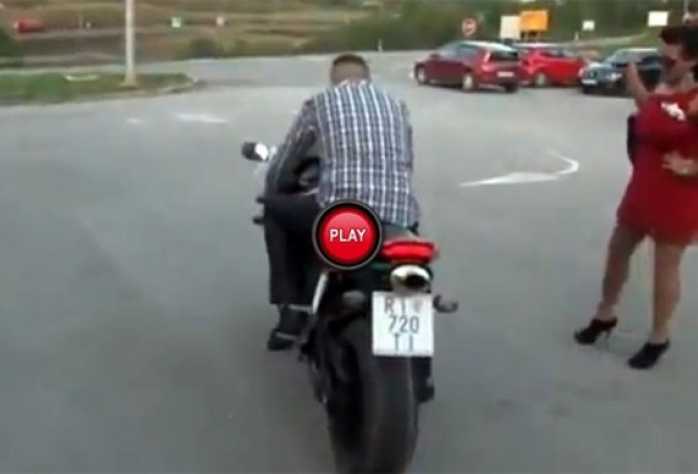 VIDEO: Motocicletele nu sunt pentru toti
