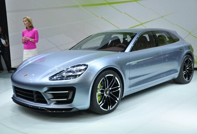 LIVE de la Paris 2012: Porsche Panamera Sport Turismo
