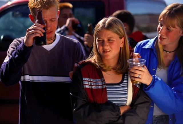 Tinerii americani conduc bauti