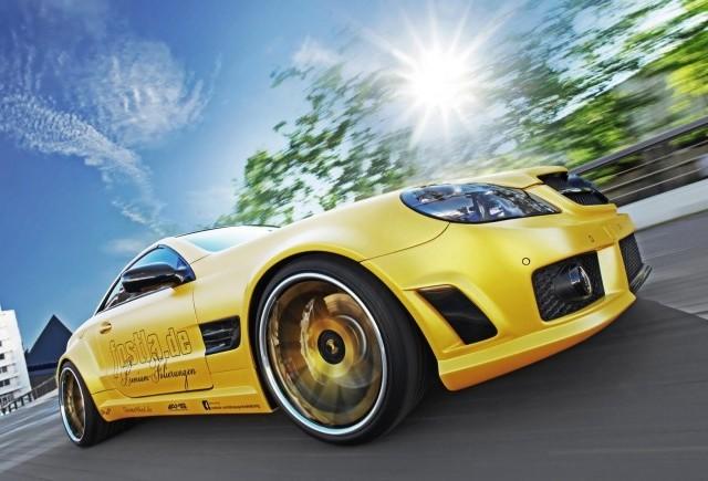 TUNING: Mercedes SL55 AMG modificat de Fostla
