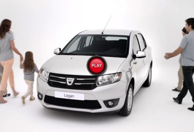 Primele spoturi publicitare: Dacia Logan si Sandero