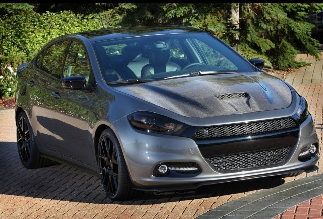 Dodge Dart Carbon Fire 2013