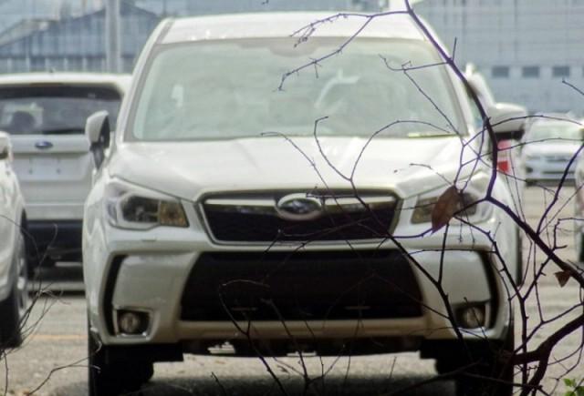 Imagini spion cu noul Subaru Forester